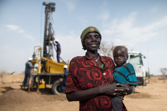 South Sudan Well Drilling and WASH