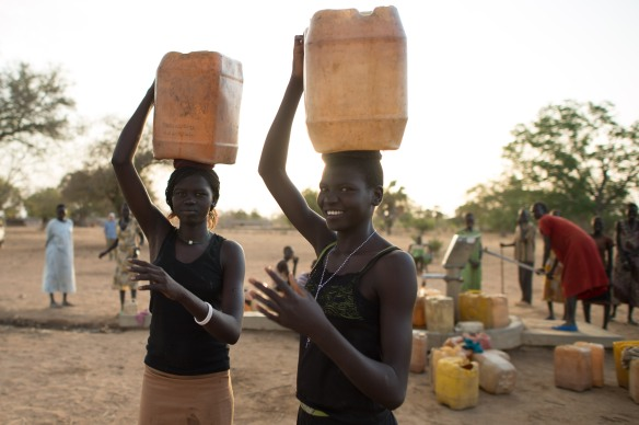 South Sudan Well Drilling, WASH