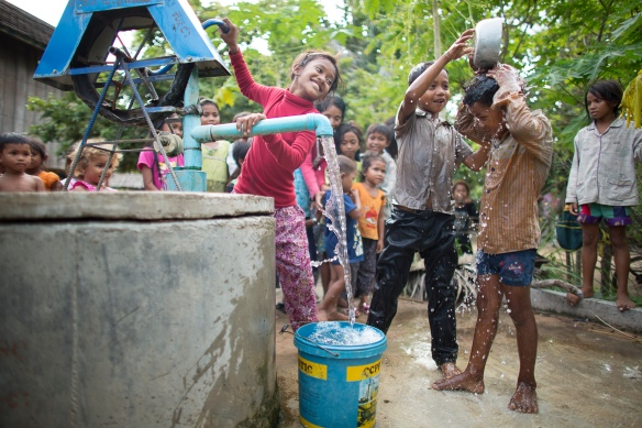Samaritan's Purse Cambodia projects.